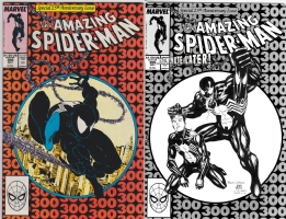 Jim Cheung & Mark Morales - Spider-Man #300 - One Minute Later Comic Art